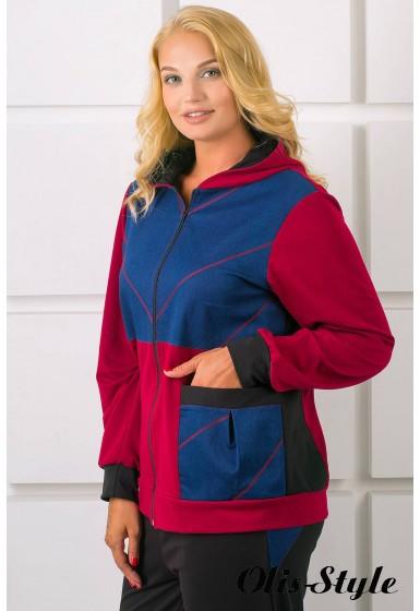 Спортивный костюм Лакри (бордовый)   оптовая цена