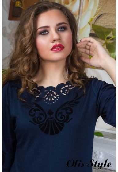 Платье Юлия (синий) оптовая цена