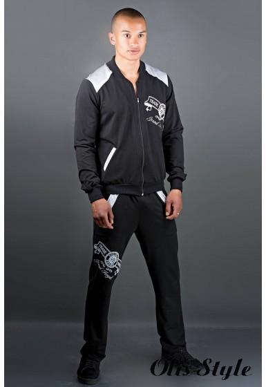 Мужской спортивный костюм Митчел (черный) Оптовая Цена