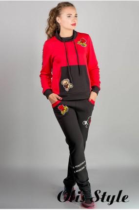 спортивный костюм Драйв (красный)   Оптовая Цена