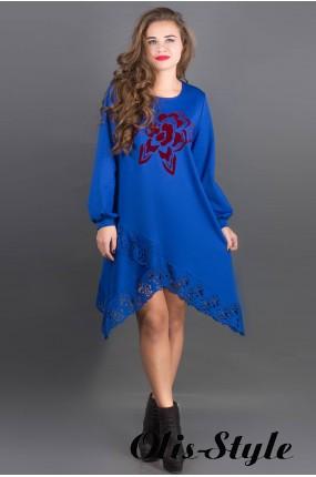 Платье Бланк (электрик) Оптовая цена