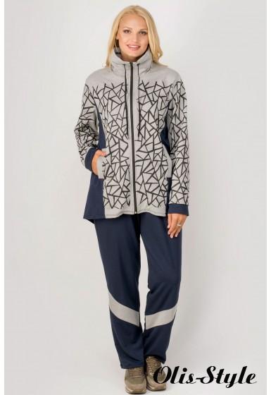 Спортивный костюм Айден (серый)   оптовая цена