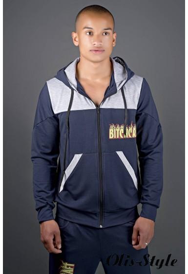 Мужской спортивный костюм Сэм (синий) Оптовая Цена