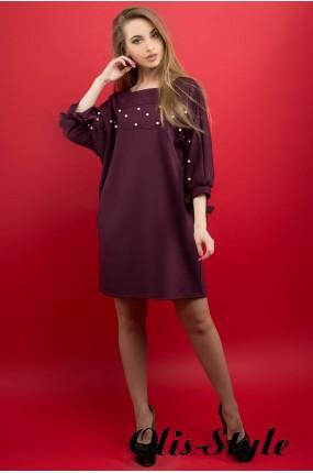 Платье Марис (бордовый) Оптовая цена