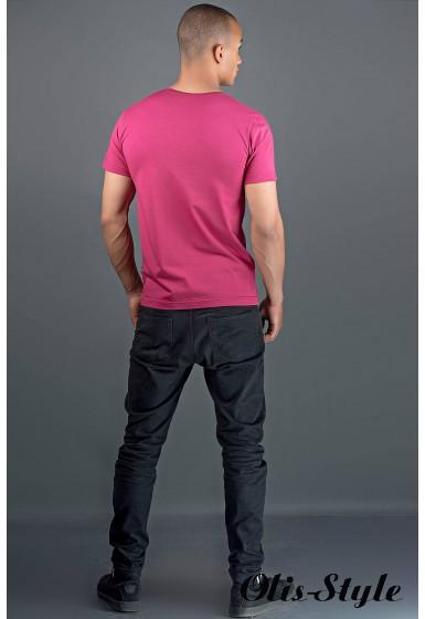 Мужская футболка Жерар 2 (бордовый) оптовая цена