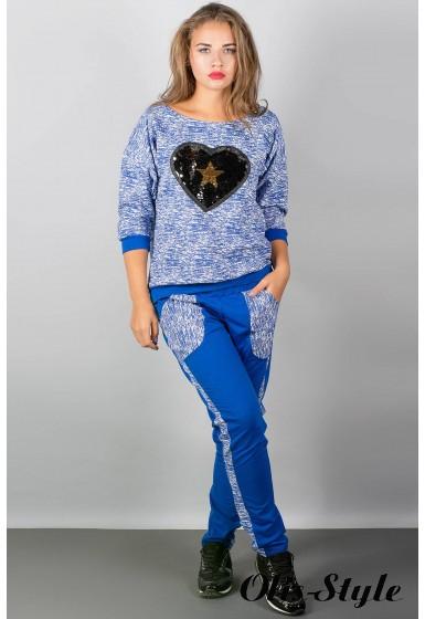 спортивный костюм Сандра (электрик сердце)   Оптовая Цена