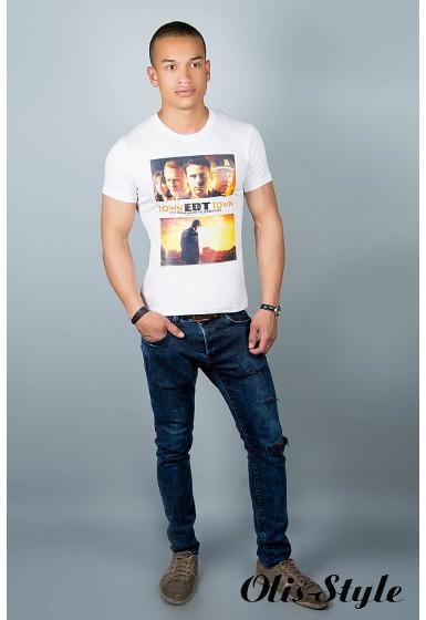 Мужская футболка ( белая №28)   оптовая цена