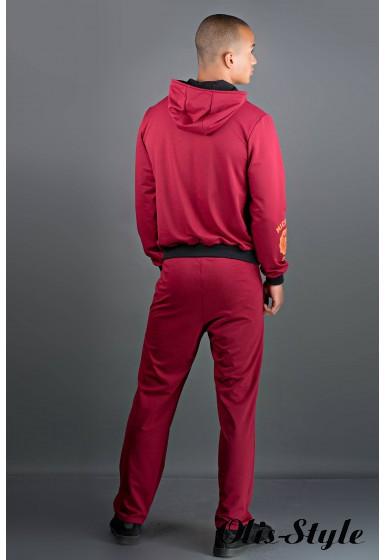 Мужской спортивный костюм Тотем (бордовый) Оптовая Цена