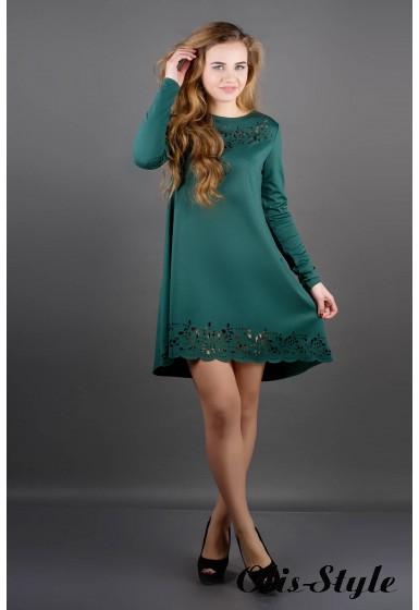 Платье Лучия (зеленый) Оптовая Цена
