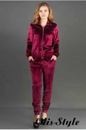 Спортивный костюм Ленди (бордовый) Оптовая цена
