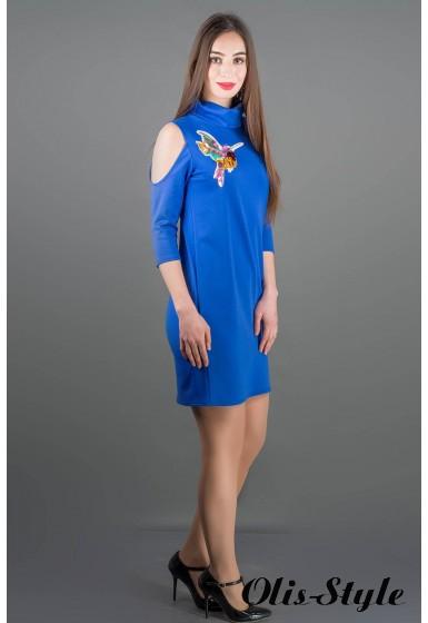 Платье Самира (электрик) Оптовая цена