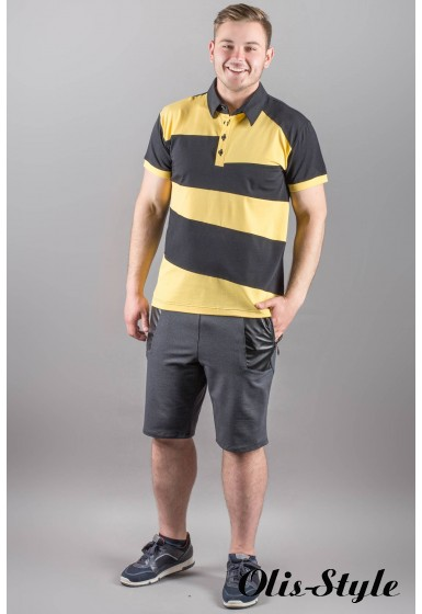 Мужская футболка Зидан (желтый)