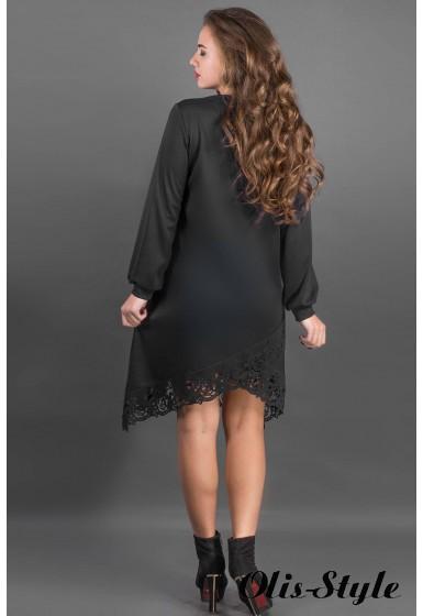 Платье Бланк (черный) Оптовая цена
