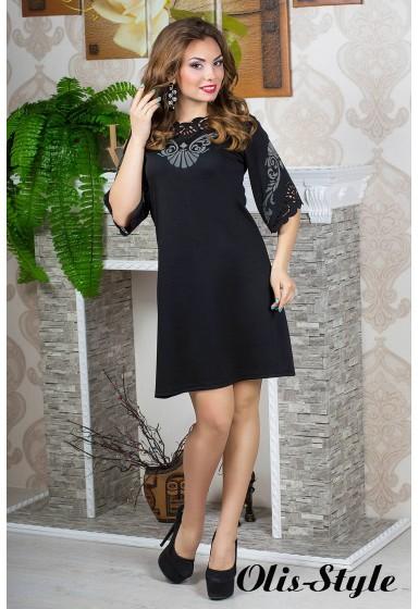 Платье Юлия (черный) оптовая цена