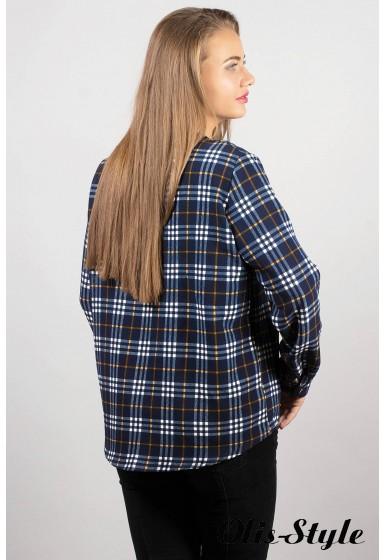 Рубашка Марчелло (синя-жёлтая) Оптовая Цена