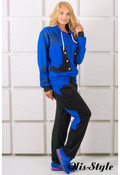 Спортивный костюм Нейли (электрик)   оптовая цена