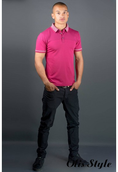 Мужская футболка Жорж (бордовый) оптовая цена