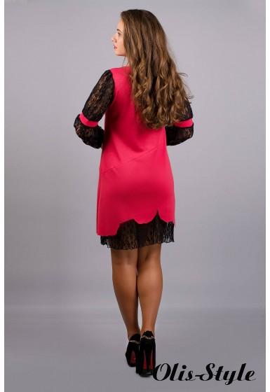 Платье Астра (коралл) Оптовая цена