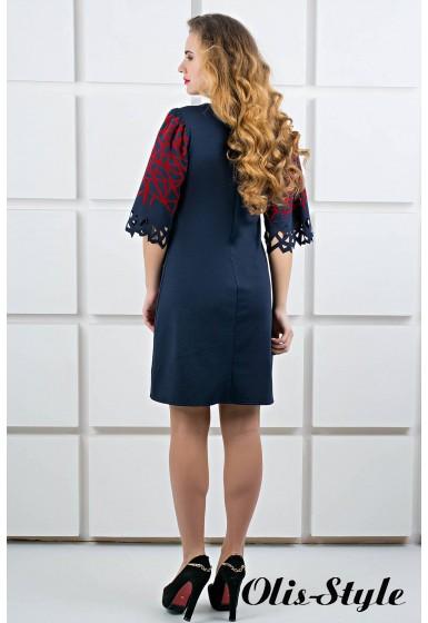 Платье Мэйби (синий) Оптовая цена