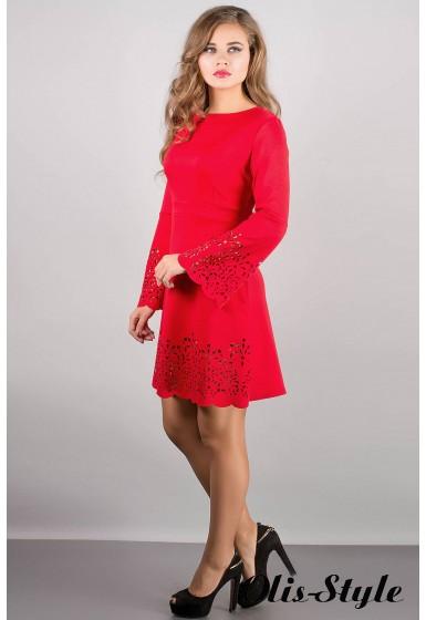Платье Мальдива (красный) Оптовая цена