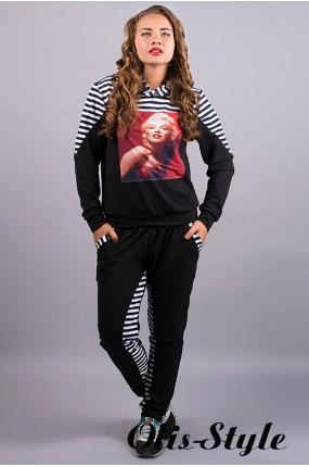 спортивный костюм Монро (черный) Оптовая Цена