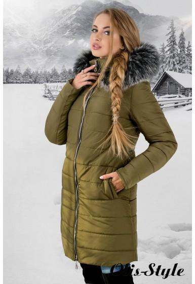 b836f95acde Зимняя куртка Флорида (хаки серый мех) Оптовая цена - купить оптом в ...