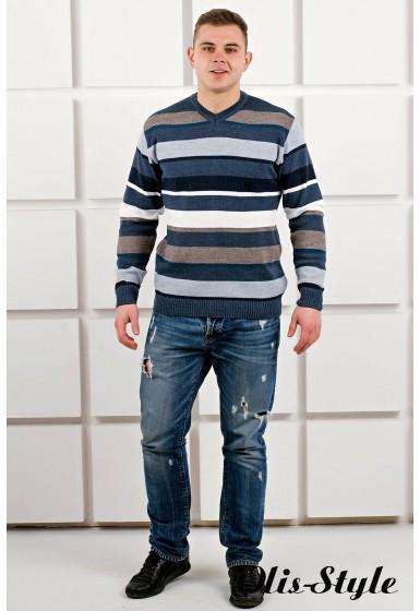 Мужской свитер Марсель мыс (синий) оптовая цена