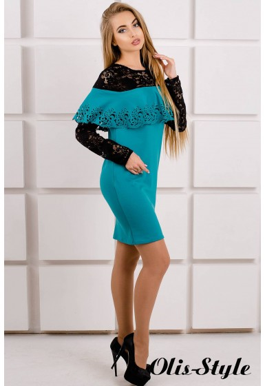 Платье Элис (бирюза) Оптовая цена