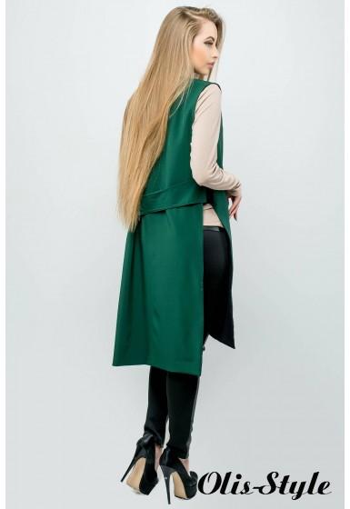 Жилет-накидка Лойк (зеленый) Оптовая цена
