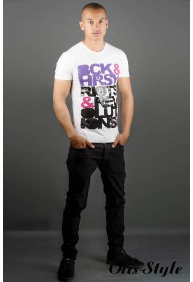 Мужская футболка Йонес (белый) оптовая цена