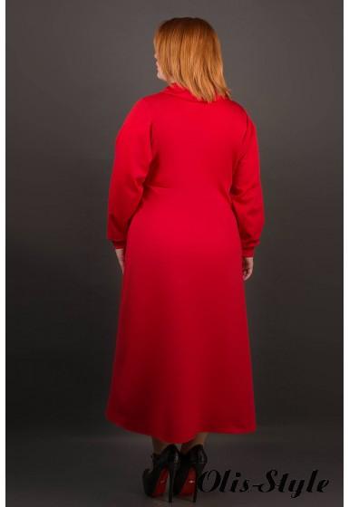 Платье Клеш (красный) Оптовая цена