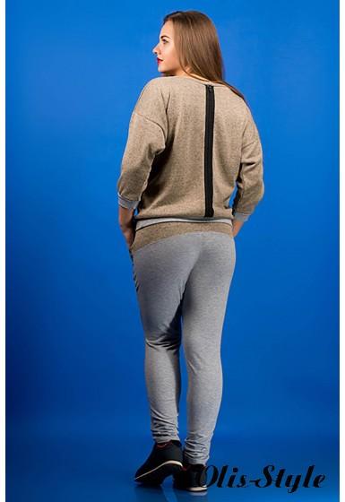 спортивный костюм Одри (бежевый)   Оптовая Цена