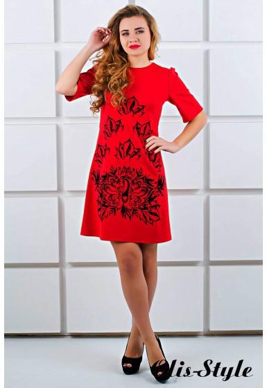 Платье Ариэль (красный) Оптовая цена