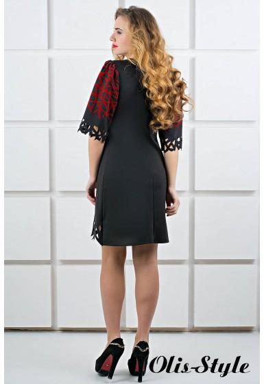 Платье Мэйби (черный) Оптовая цена