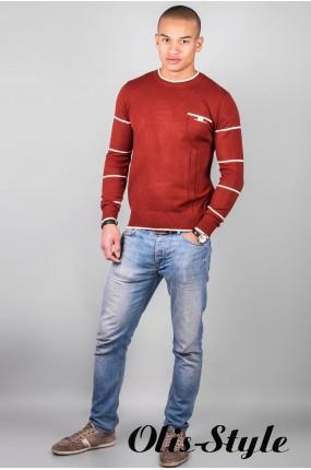 Мужской свитер (терракот 12 )   оптовая цена