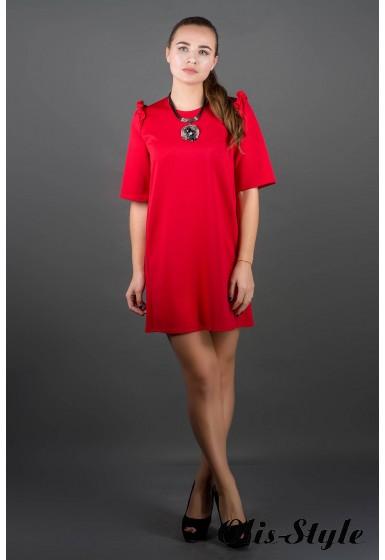 Платье Блуми (красный) Оптовая цена
