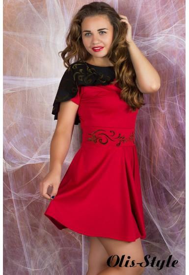 Платье Мадонна (коралловый) оптовая цена