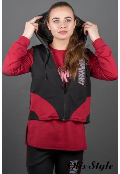 Спортивный костюм Арти (бордовый) Оптовая цена