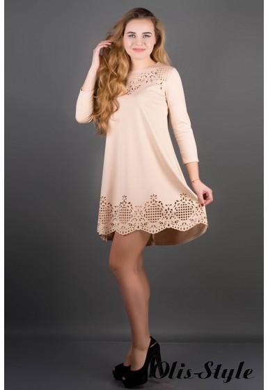Платье Летисия (бежевый) Оптовая Цена