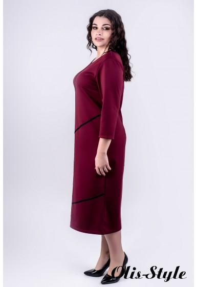 Платье Мери (бордовый)