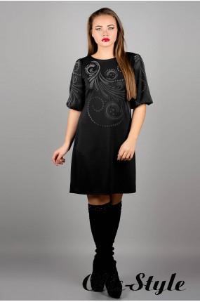 Платье Каролина (черный) оптовая цена