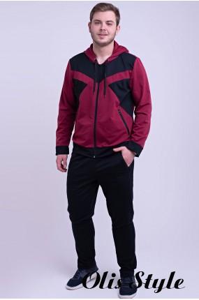 Мужской спортивный костюм Адвенд (бордовый) Оптовая Цена