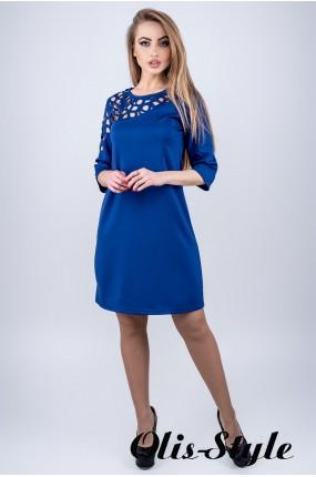 Платье Луиза (электрик) Оптовая цена