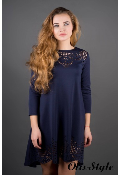 Платье Летисия (синий) Оптовая Цена