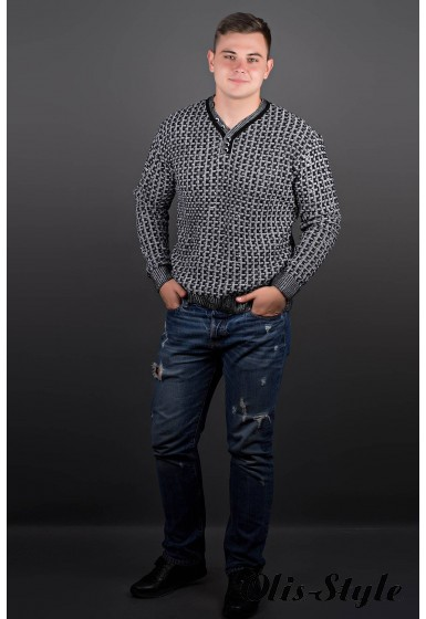 Мужской свитер Влад (черный) оптовая цена