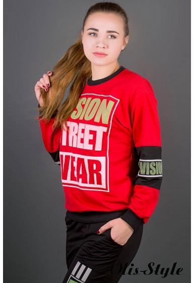 Спортивный костюм Девита (красный) Оптовая цена