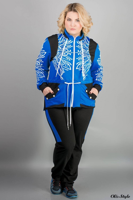 Спортивный костюм Марго (электрик)   оптовая цена