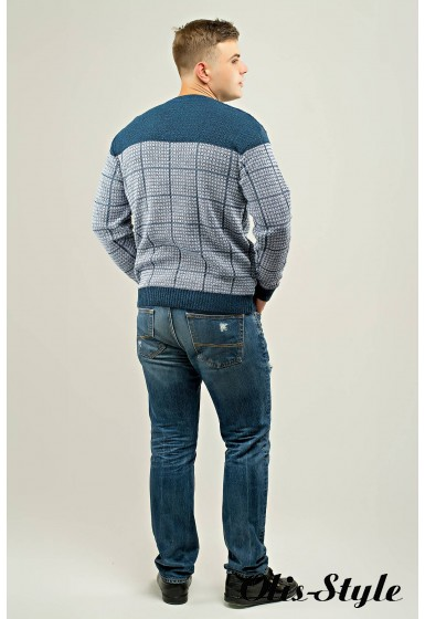 Мужской свитер Никита (голубой) оптовая цена