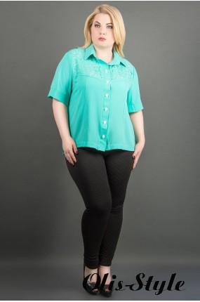 Рубашка Ника (бирюза) оптовая цена