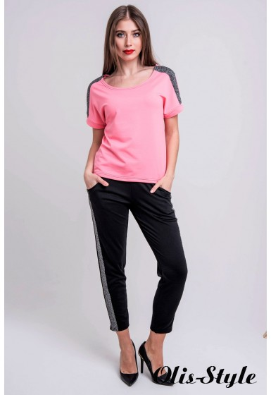 Спортивный костюм Мия (розовый) Оптовая цена
